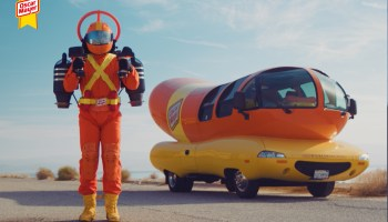 In time for July 4, Oscar Mayer launches Super Hotdogger in a jet pack to help deliver wieners