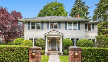 Grand Colonial Home in North Capitol Hill