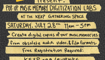 KEXP digitization