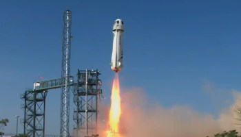 Blue Origin New Shepard launch