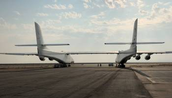Stratolaunch airplane