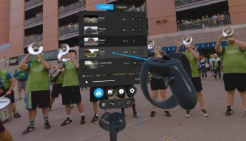 d8f2999b918 Pixvana s new virtual reality production software lets you edit VR content  while wearing a headset