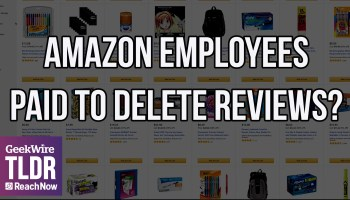 TLDR: Are third-party sellers paying Amazon employees to delete negative reviews?