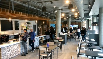 AT&T merges high-tech retail, coffee and hangout space in Seattle for its first 'Lounge' concept