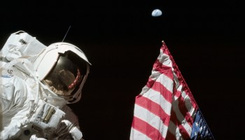 Apollo 17 flag