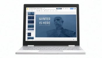 A slide presentation fit for the undead: 'Game of Thrones' White Walkers turn to Google Chromebook