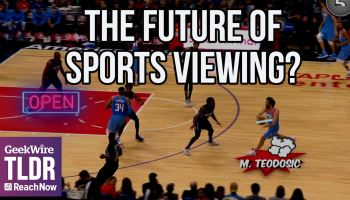 TLDR: LA Clippers & Steve Ballmer unveil augmented reality NBA experience