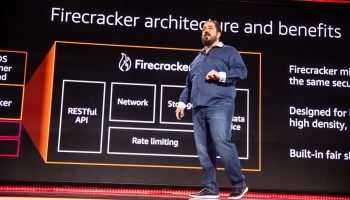 With Firecracker, Amazon Web Services reinvents its serverless computing infrastructure and open-source reputation