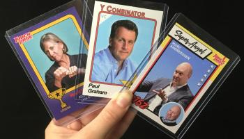 Invest wisely: From angels to advisors, VC Trading Cards feature the heavy hitters of tech