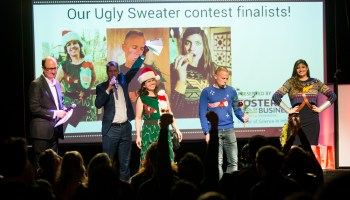 GeekWire Gala 'Ugly Sweater' contest: Your chance to win two roundtrip Alaska Airlines tickets