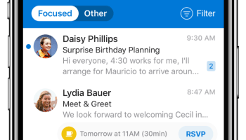 'Incredible in less than 22 seconds': Microsoft Outlook gets an iOS refresh, with simplicity in mind