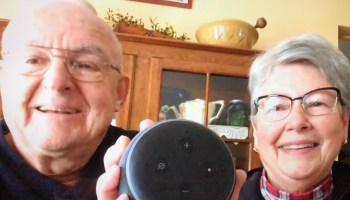 I got my parents an Amazon Echo Dot for Christmas and here's how they're getting along with Alexa