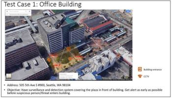 Vulcan plans to test AI security system on Seattle plaza, capable of scanning passersby for threats