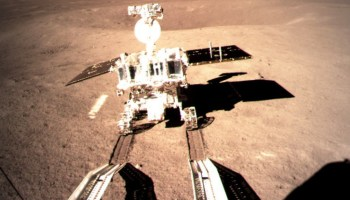 Yutu 2 rover on lunar far side