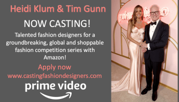 Can you dress for success? Heidi Klum and Tim Gunn seek designers for Amazon fashion series