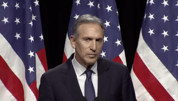 Howard Schultz blames partisanship for lack of progress on immigration, job training and taxes