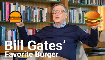 GeekWire grills Bill Gates on a meaty issue for Seattle fast food lovers: Dick's or Burgermaster?