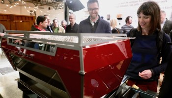 La Marzocco's new high-tech espresso machine respects the human touch and wows coffee geeks