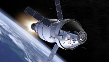 Orion and European Service Modlule