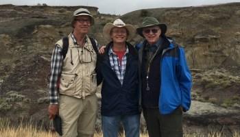 Three researchers