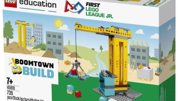 LEGO unveils new city-focused sets for kids who compete in FIRST robotics competitions