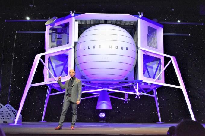 Blue Origin Gets In On Three Nasa Partnerships For Moon Landings Geekwire