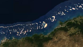 Allen Coral Atlas adds spectacular satellite views of Australia's Great Barrier Reef