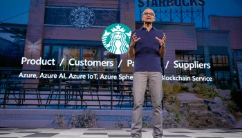 Microsoft teams up with Starbucks on predictive drive-thru ordering and bean-to-cup blockchain