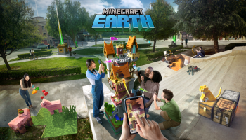 Look out, Pokémon Go: Microsoft unveils new Minecraft Earth augmented reality game