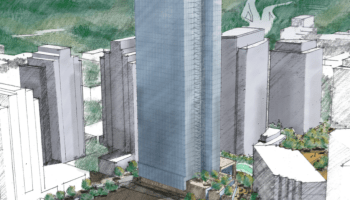 Public records reveal another potential giant Amazon tower in Bellevue