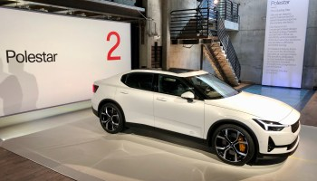 Taking on Tesla: Polestar 2 electric car, with Google tech built in, rolls into Seattle amid showroom plans