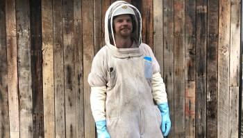 Geek of the Week: Info security pro Dan Schwalbe has a buzzworthy side job as 'Dan the Bee Man'