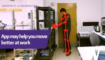 Could an app make warehouse work safer? Univ. of Washington algorithm flags risky ergonomics