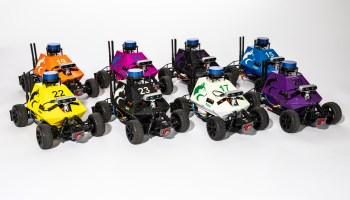 Robotic race car platform from Univ. of Washington designed to speed research around A.I.