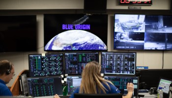 Blue Origin control room