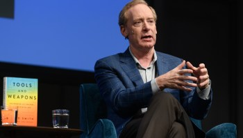 A former Microsoft security expert reviews Brad Smith's 'Tools and Weapons' book