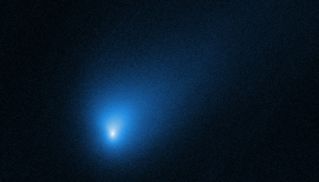 Hubble gets snapshot of interstellar comet