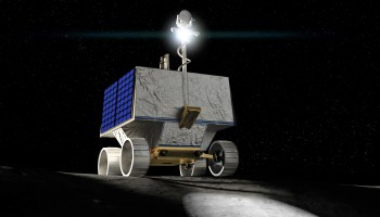 NASA will send VIPER rover to the moon in 2022 to track down south pole's water ice