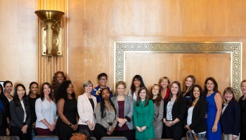 Here's why 22 female entrepreneurs just met with federal lawmakers in Washington D.C.