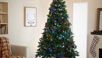 Oh, Christmas tree, even you are turned on by Amazon and Alexa … and it might be pretty cool