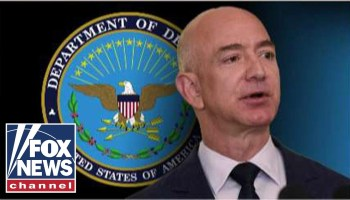 Amazon cites Fox News segment, Trump rally in formal protest of Pentagon's $10B JEDI award