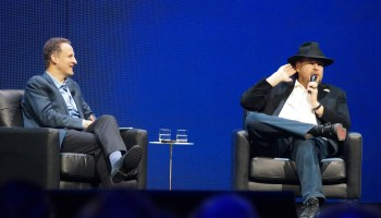 Salesforce chief Marc Benioff shows up at Tableau's conference — here's what he said