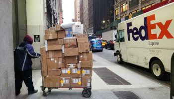 Researchers tackle the 'final 50 feet' of delivery challenge as online shopping spikes