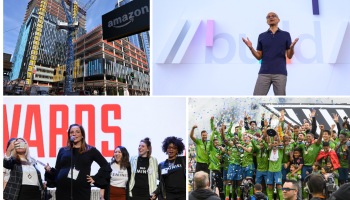 Year in pictures: Tech giants, startups, politics, soccer and more put focus on Seattle in 2019