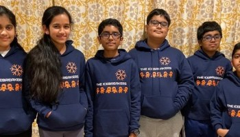 Kids devise a solution to stop distracted driving with project for FIRST LEGO League