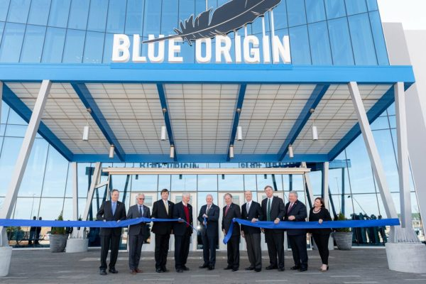 Blue Origin lays out ambitious plan for rocket engine production as it opens Alabama factory