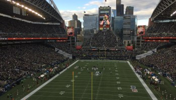 Seattle's CenturyLink Field is going cashless in hopes that cards speed transactions at stadium