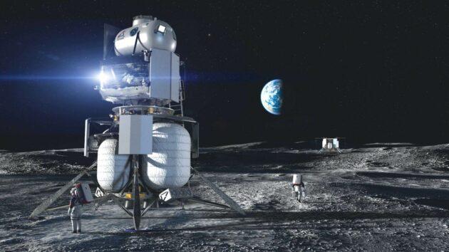 Blue Origin landers