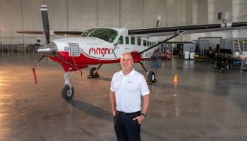 MagniX墨水交易翻新水上飞机与电动发动机的Blade航班在纽约和汉普顿
