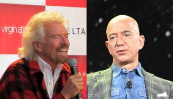 Richard Branson和Jeff Bezos